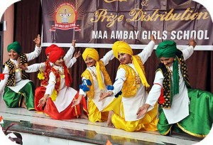 Maa Ambay Girls School has a fantastic schedule of events throughout the year